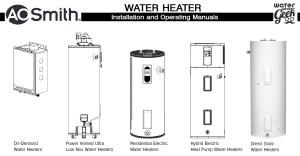 Rheem Electric Water Heater Wiring Diagram | Free Wiring