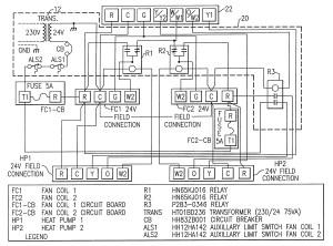 Rheem Heat Pump thermostat Wiring Diagram   Free Wiring