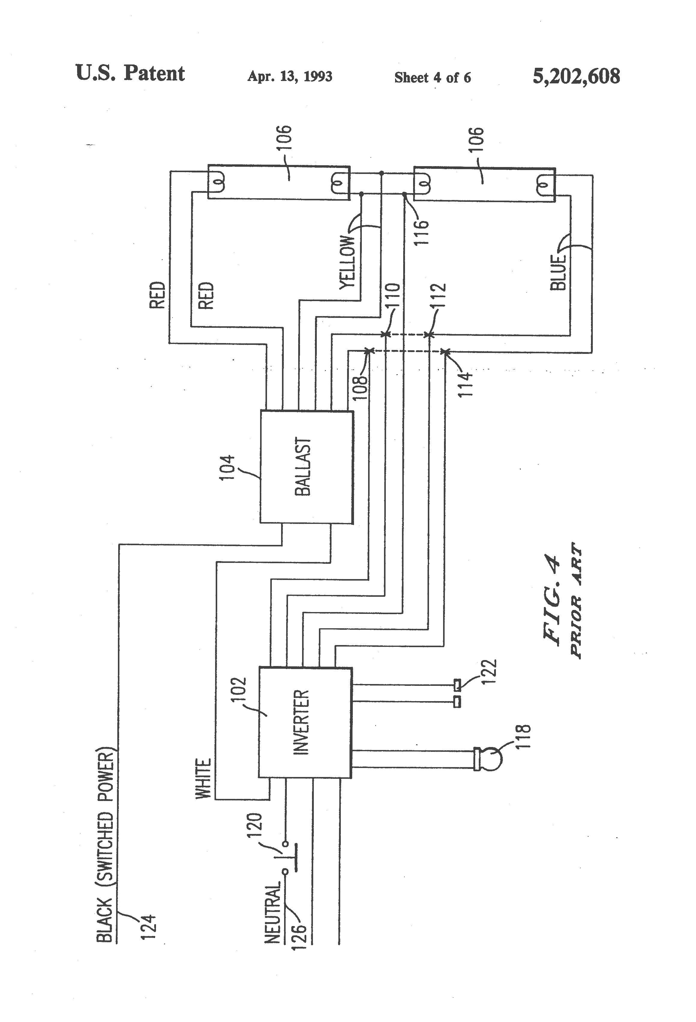Sign Ballast Wiring Diagram