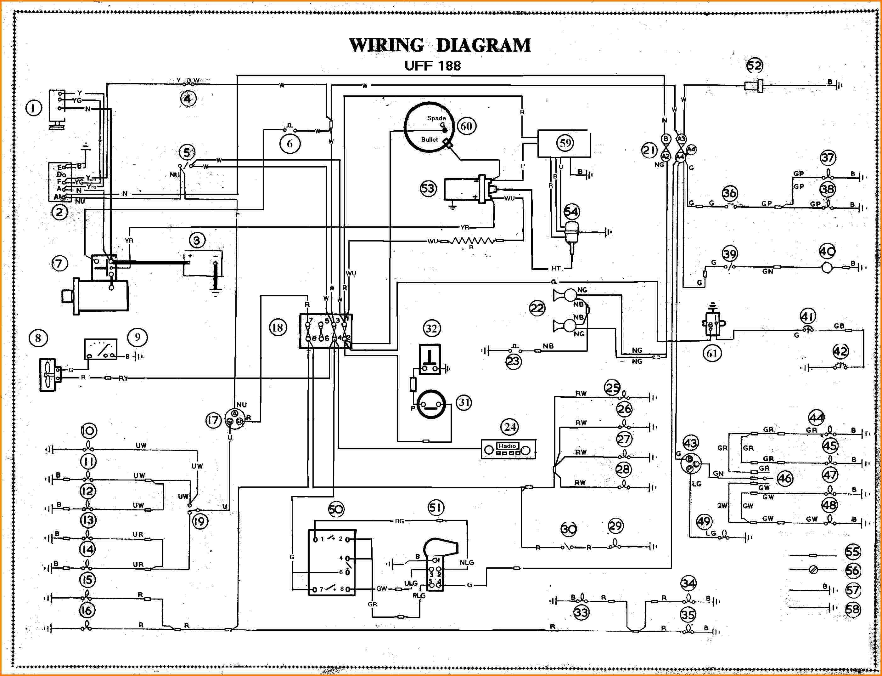 Car Schematic Wiring - Wiring Diagram Perfomance on