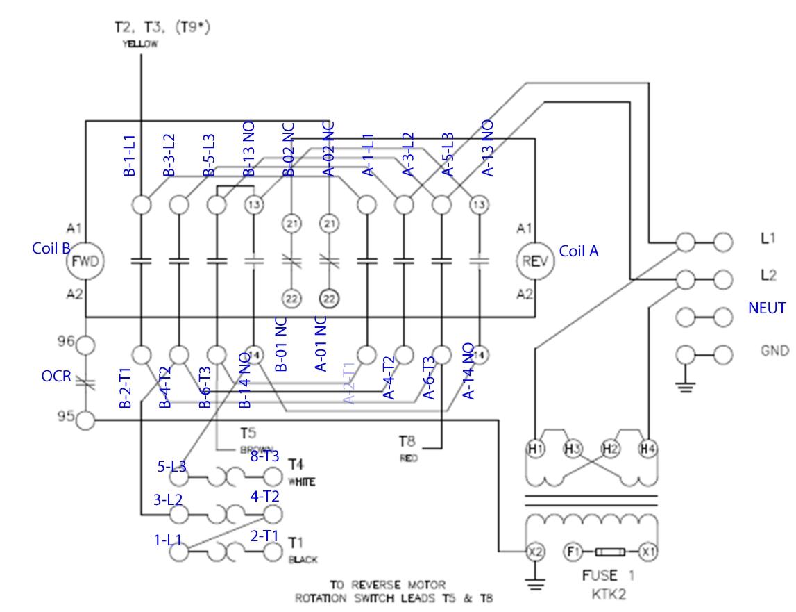 Soft Starter Wiring Diagram Schneider