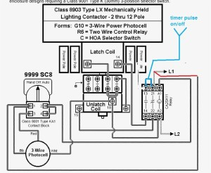 Square D 8903 Lighting Contactor Wiring Diagram | Free