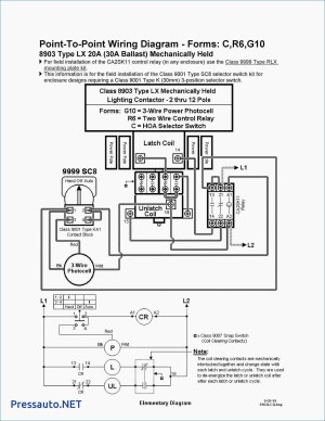 Square D 8903 Lighting Contactor Wiring Diagram | Free