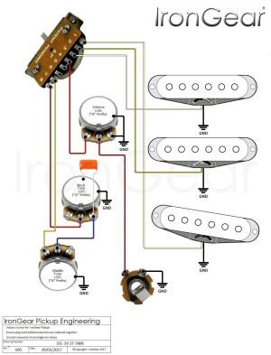 Stratocaster Wiring Diagram 5 Way Switch   Free Wiring Diagram