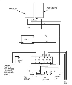 Submersible Pump Control Box Wiring Diagram | Free Wiring