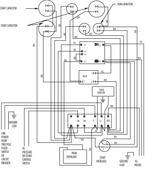 Submersible Pump Control Box Wiring Diagram | Free Wiring