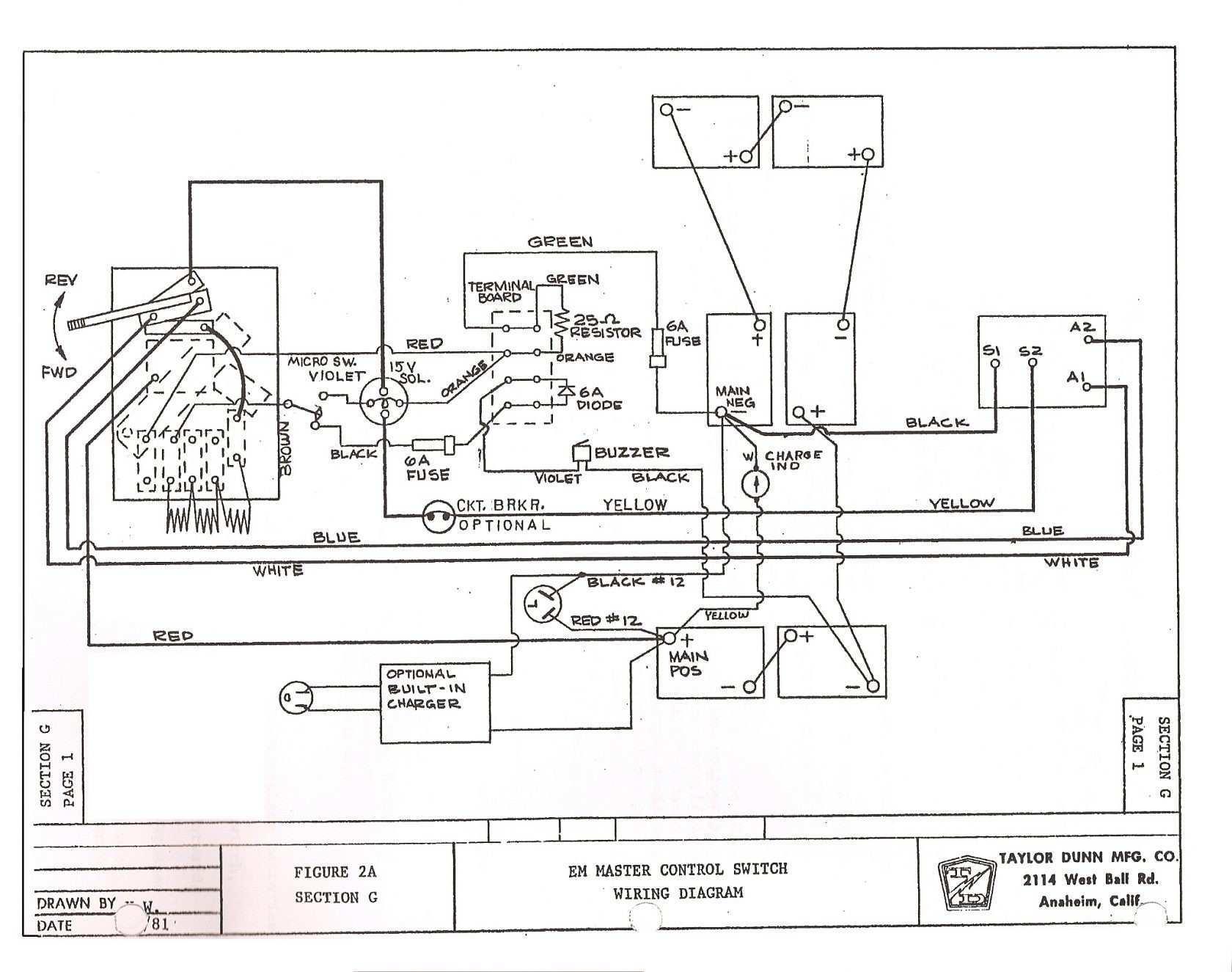 Ga Club Car Wiring Diagram Free