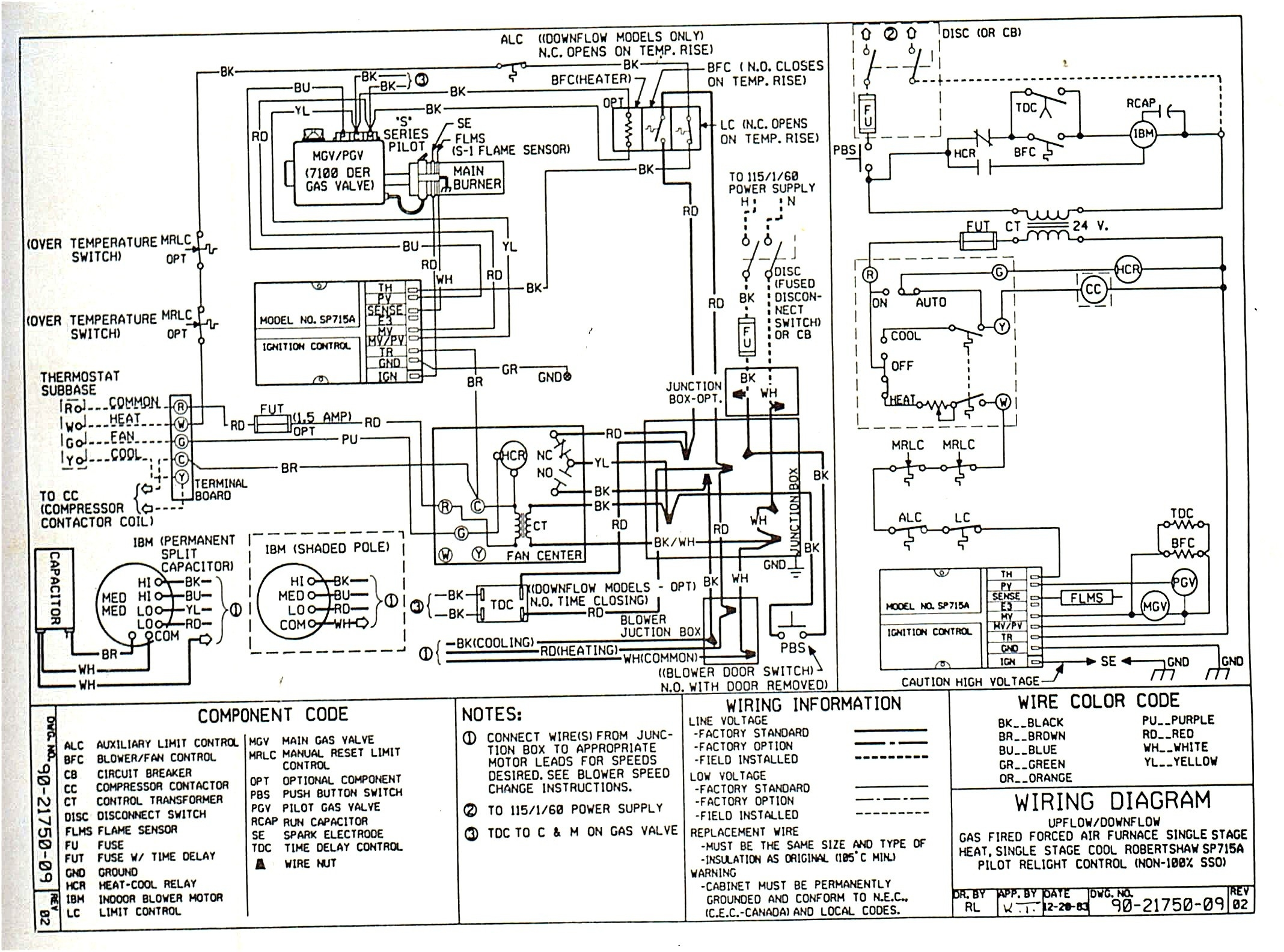 Carrier Furnace Schematic