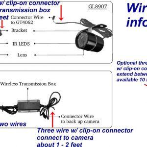 Tft Lcd Monitor Reversing Camera Wiring Diagram | Free Wiring Diagram