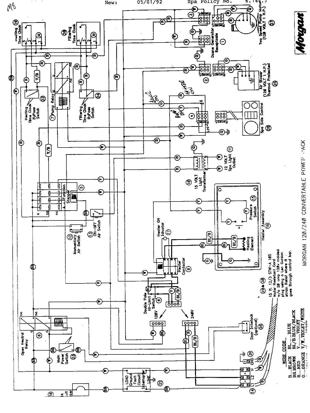 Thermospa Wiring Diagram