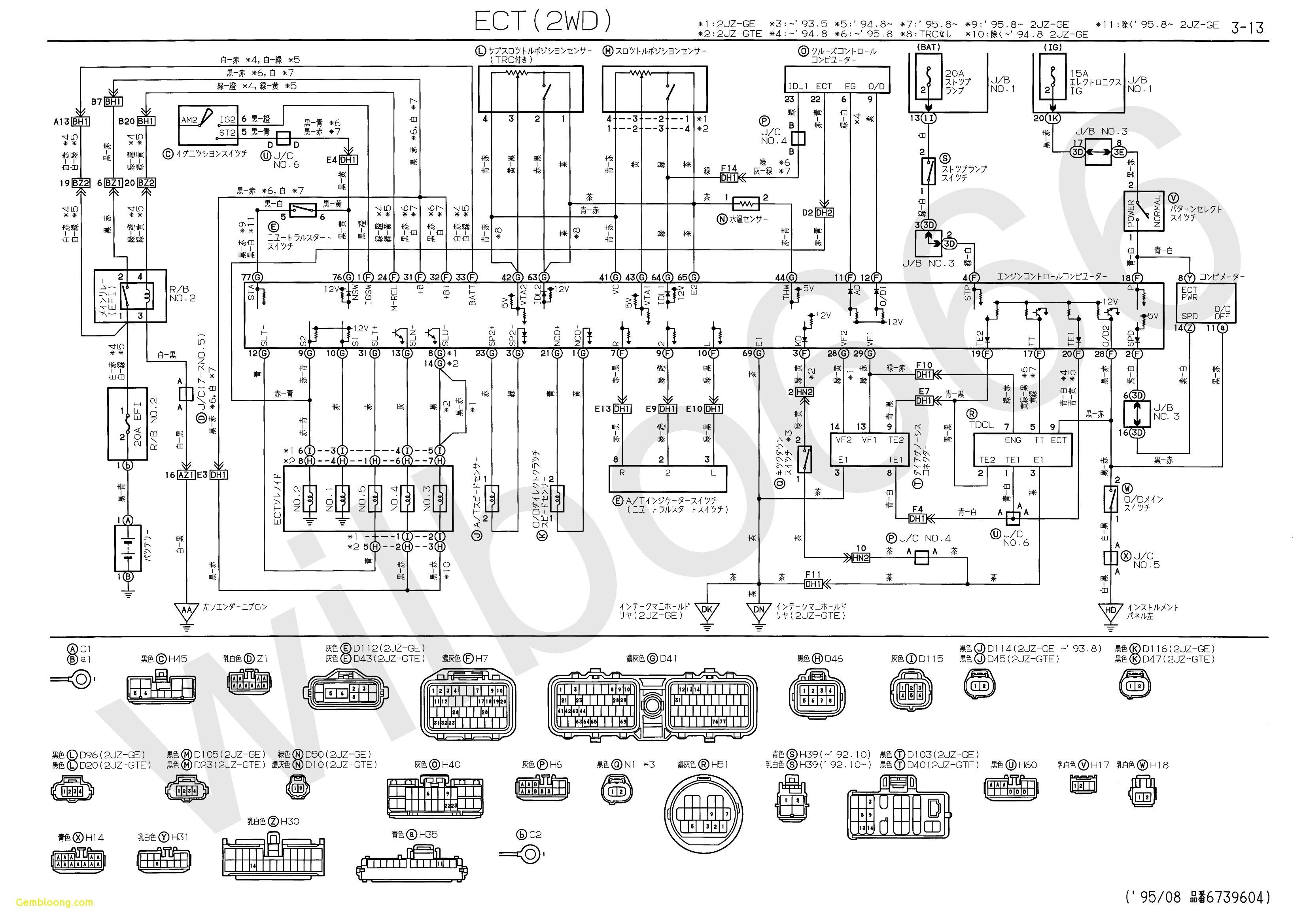 Toyota Hilux Wiring Diagram 1998