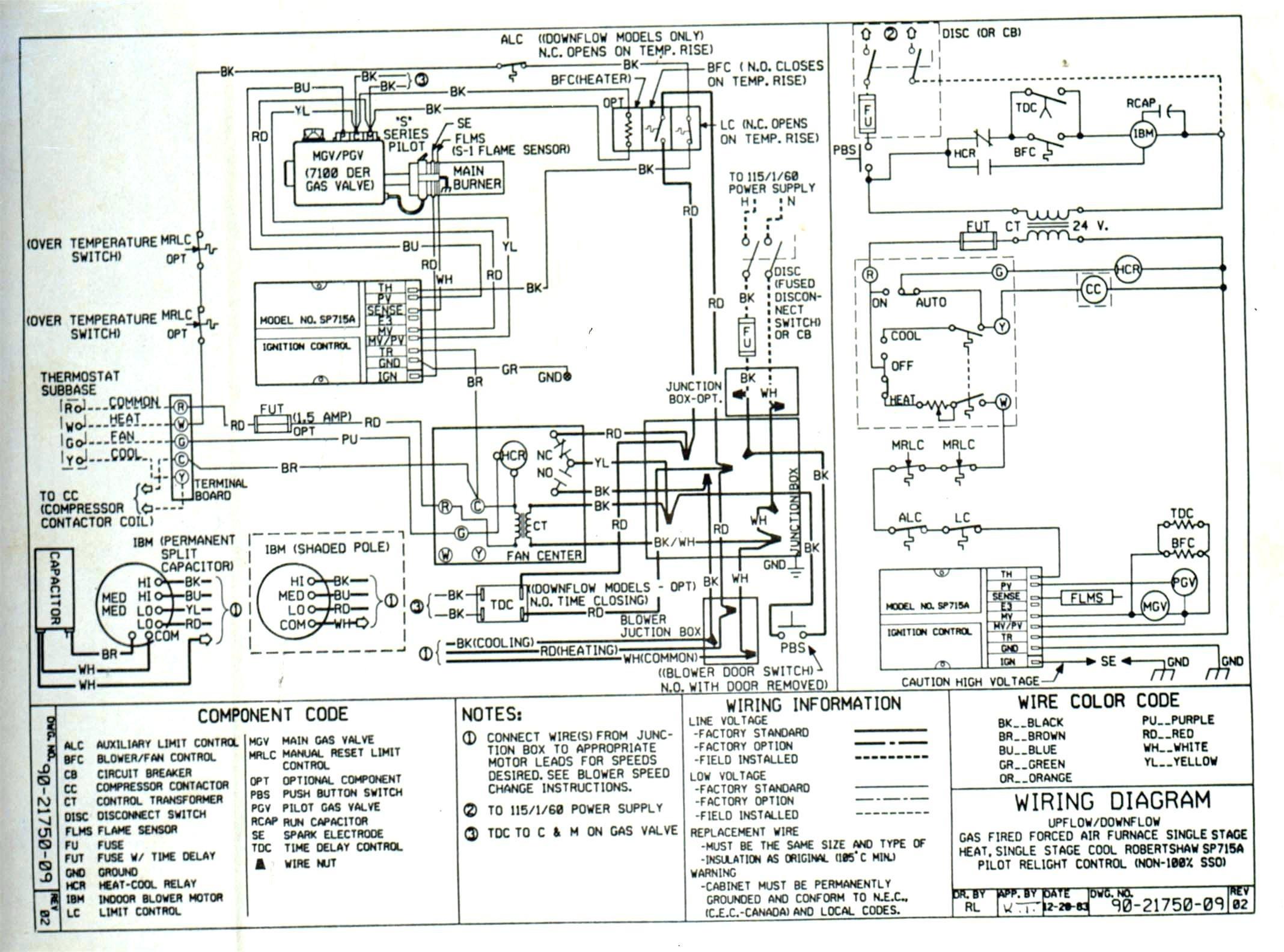 Trane Ac Wiring Diagram