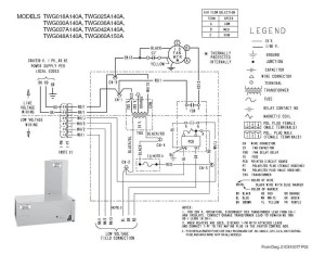 Trane Wiring Diagram Heat Pump | Free Wiring Diagram