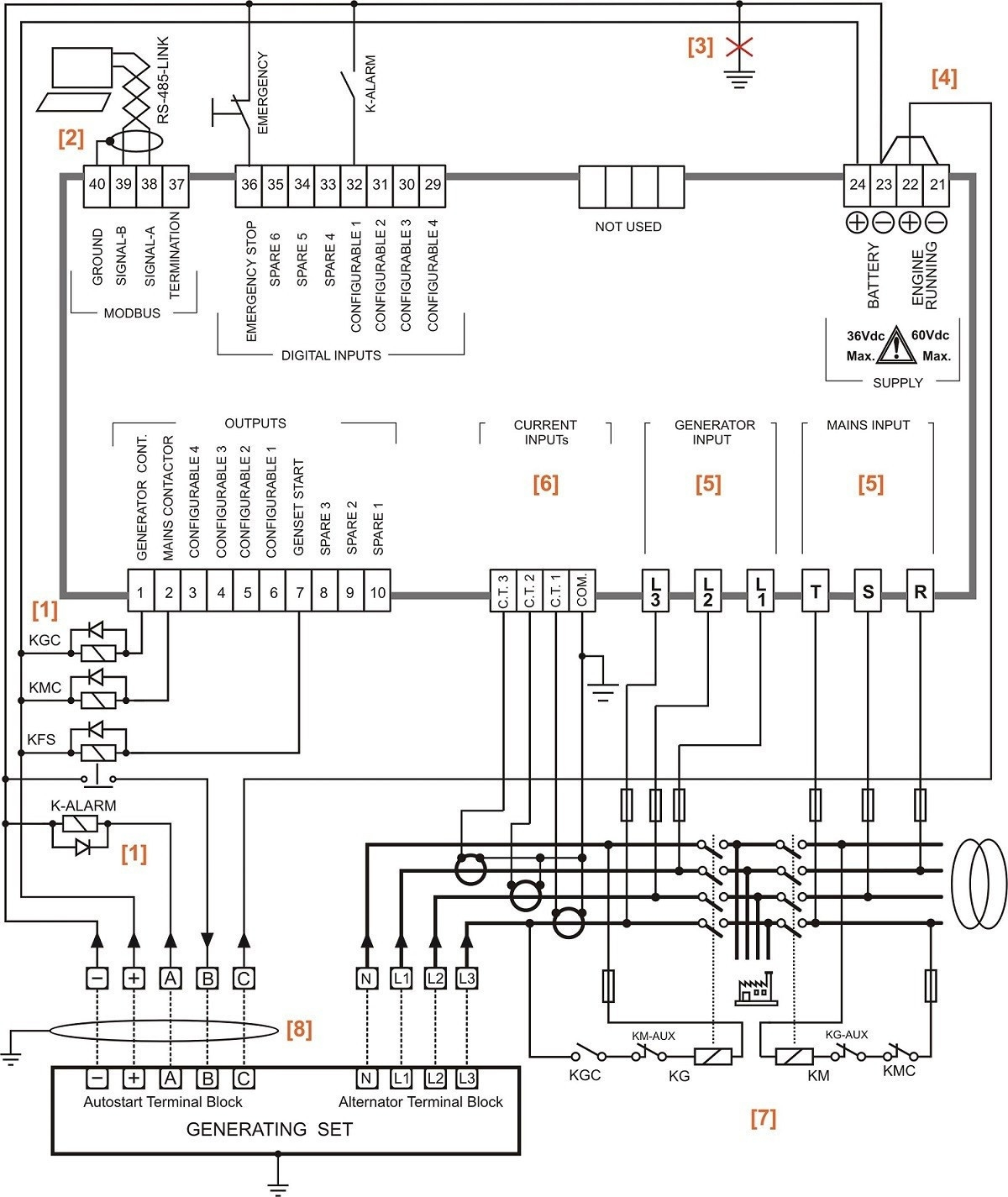 Ats 3 Phase Wiring Diagram