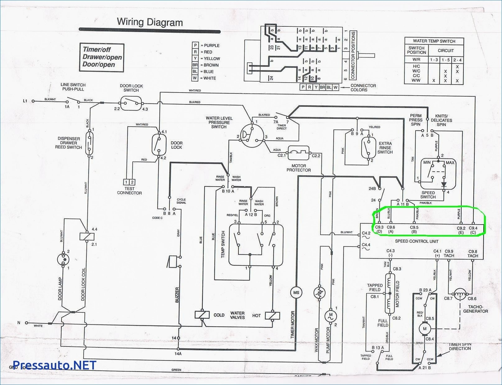 Whirlpool Washing Machine Wiring Diagram