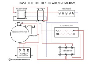 Wiring Diagram for Hot Water Heater thermostat | Free