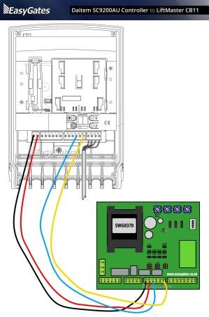 Wiring Diagram for Liftmaster Garage Door Opener | Free