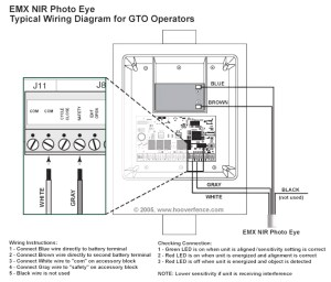 Wiring Diagram for Liftmaster Garage Door Opener | Free Wiring Diagram