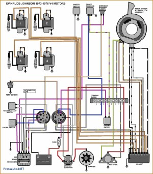 Wiring Diagram for Mercury Outboard Motor | Free Wiring