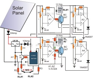 Wiring Diagram for solar Panel to Battery | Free Wiring Diagram