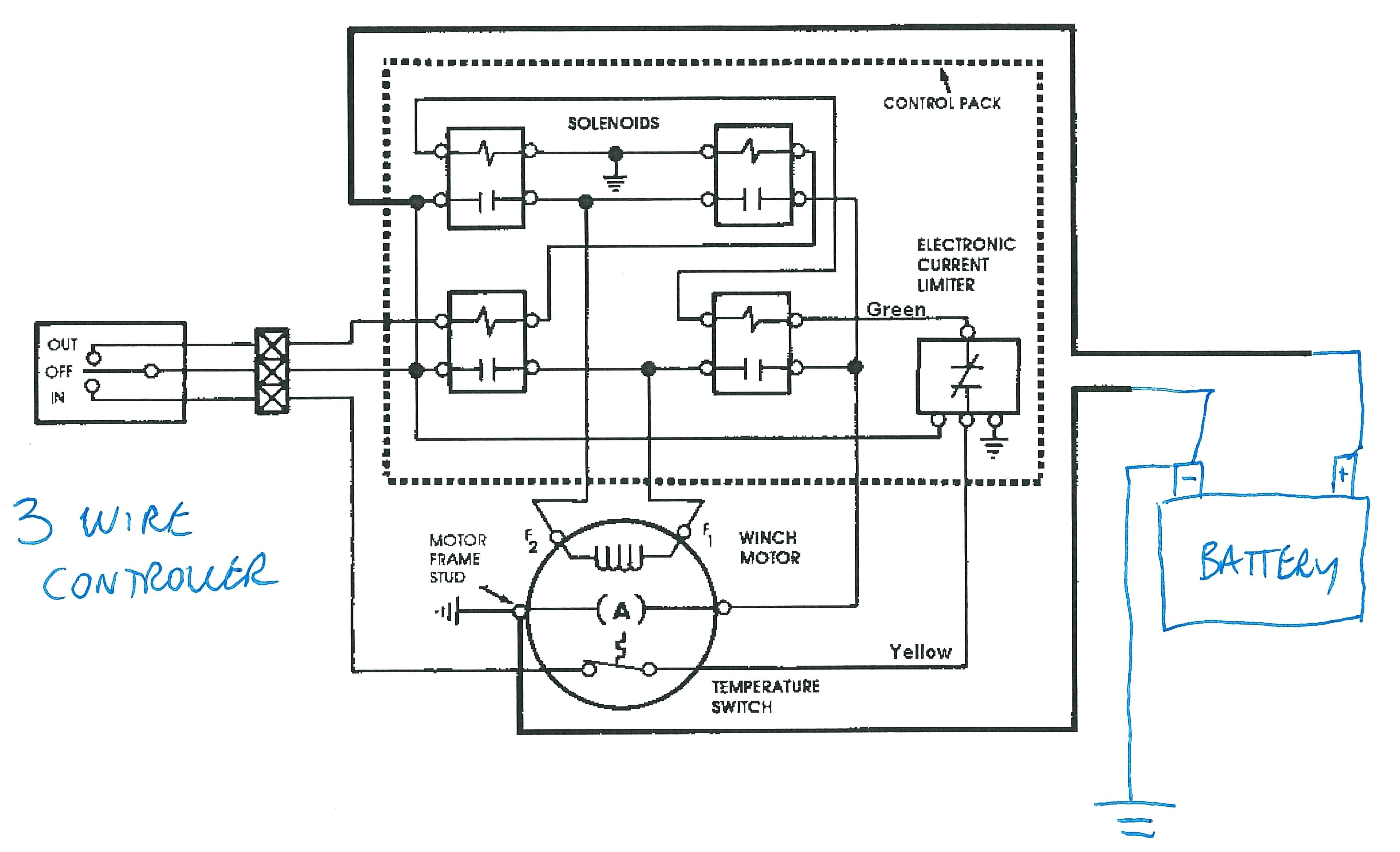 Xd Warn Winch Wiring Diagram