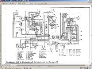 Yamaha 703 Remote Control Wiring Diagram   Free Wiring Diagram