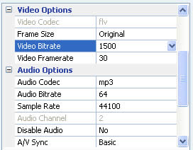 WMV to FLV video convertion - Ricardo Nuñez Blog