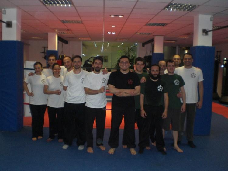 HKB Wing Chun Roma 10/04/2013