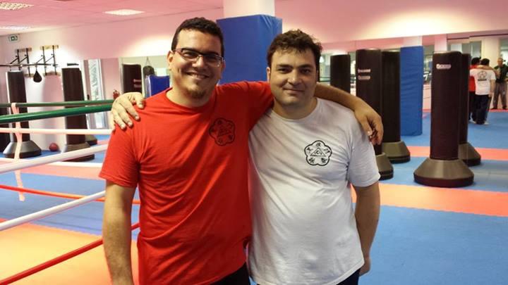 Con il mio allievo Mirko Bucci