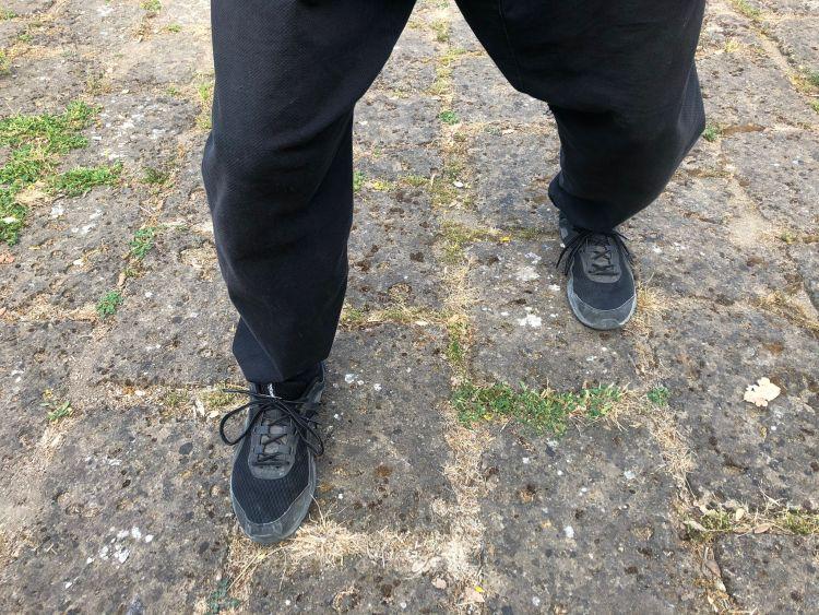 footwork del black flag wing chun