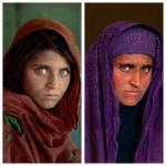 "Storia di Sharbat Gula, la ""ragazza afghana"" di McCurry."