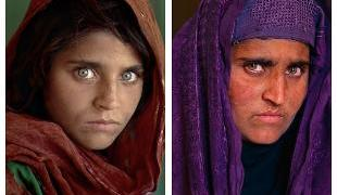 "Storia di Sharbat Gula, la ""ragazza afghana"" di McCurry."