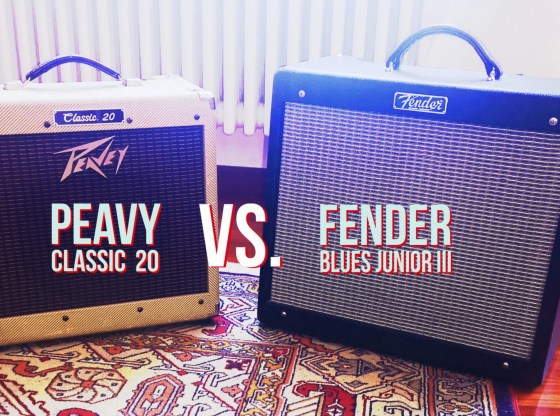 Amplificatori A Confrono: Peavey Classic 20 vs Fender Blues Junior III