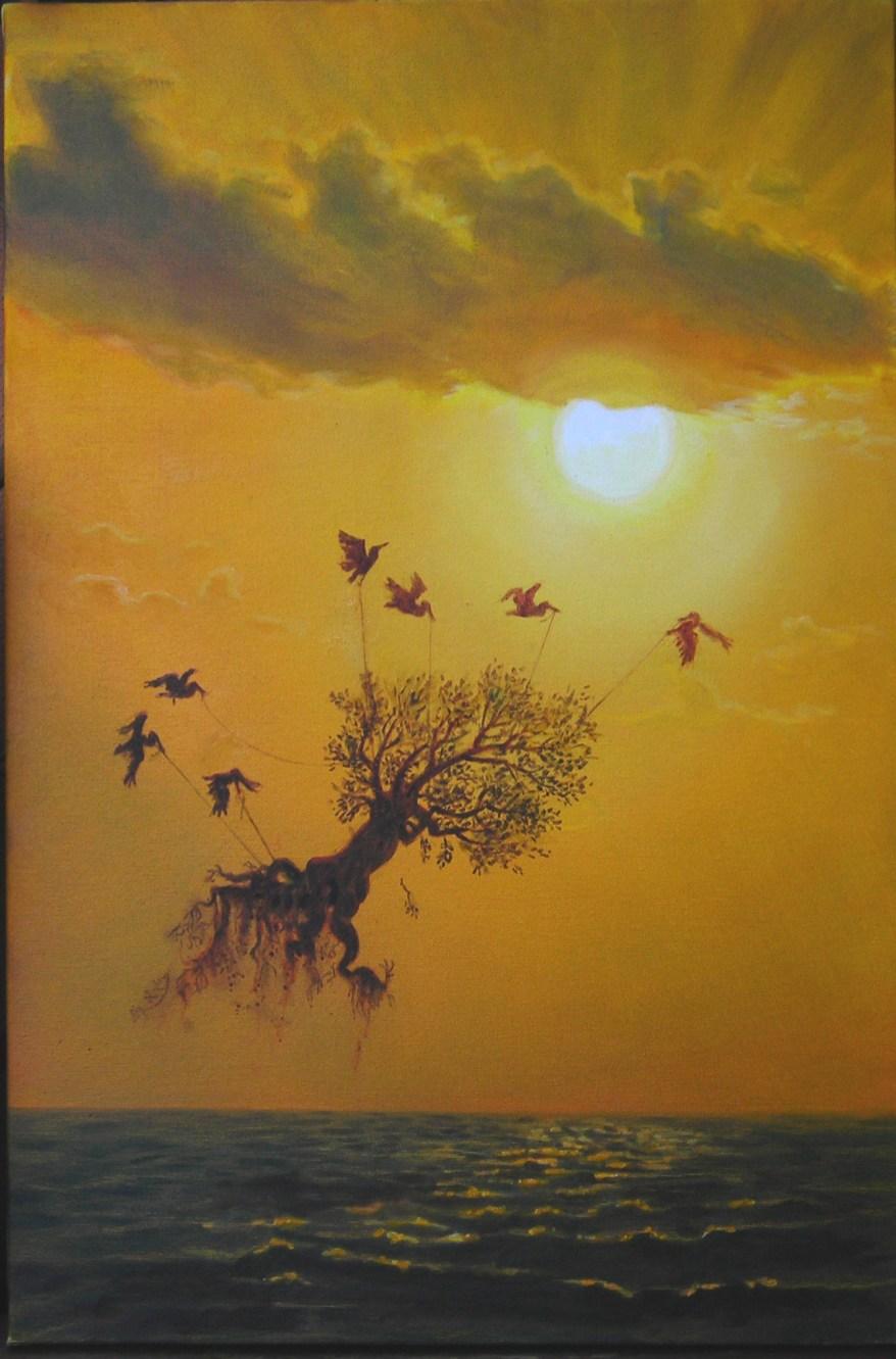 buona pasqua - 50x70 -oil on canvas - 2009
