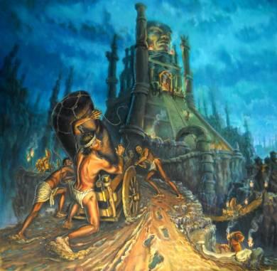 idolo - 110x110 - oil on canvas - 2005
