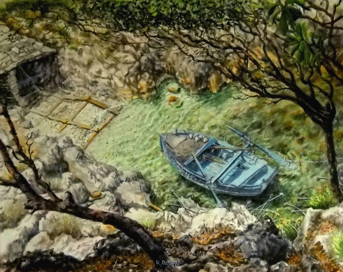 gundula di Spiliska - 40x30 - oil on canvas -2001