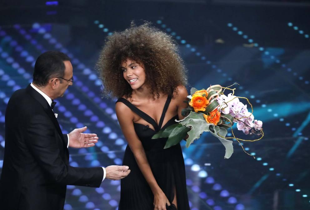 Capelli Ricci incantano Sanremo 2017: Tina Kunakey Di Vita