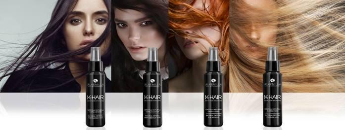 I cristalli liquidi naturali K-Hair di Alkemilla