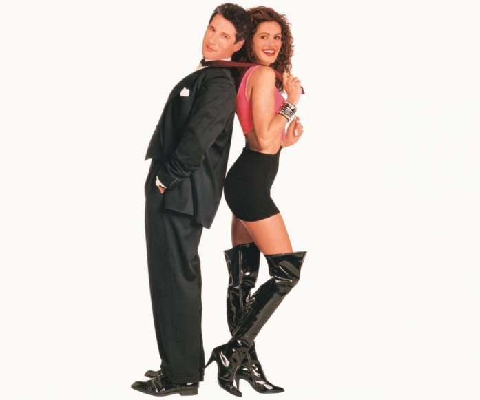 Gli stivali overknee di Julia Roberts in Pretty Woman