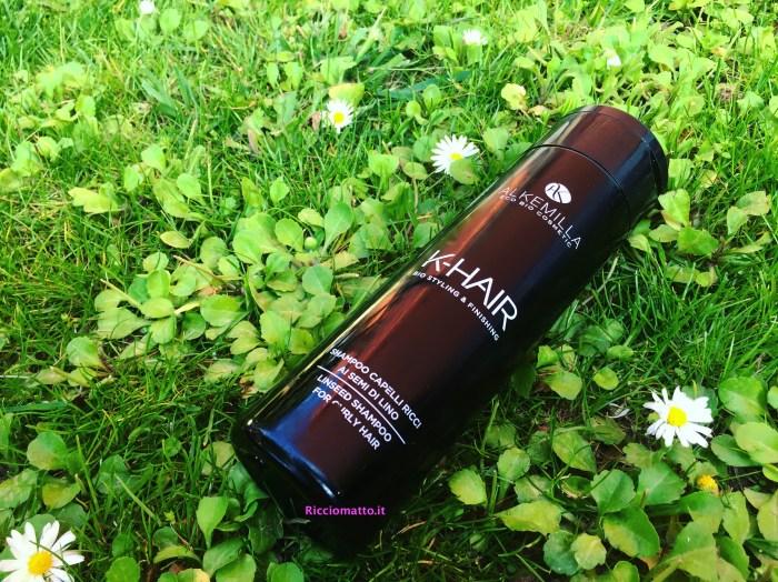 Shampoo per Capelli ricci ai semi di lino: K-HAIR Alkemilla - Ricciomatto