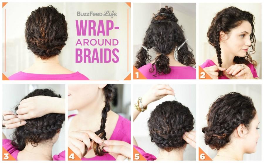 Come fare i capelli ricci con trecce