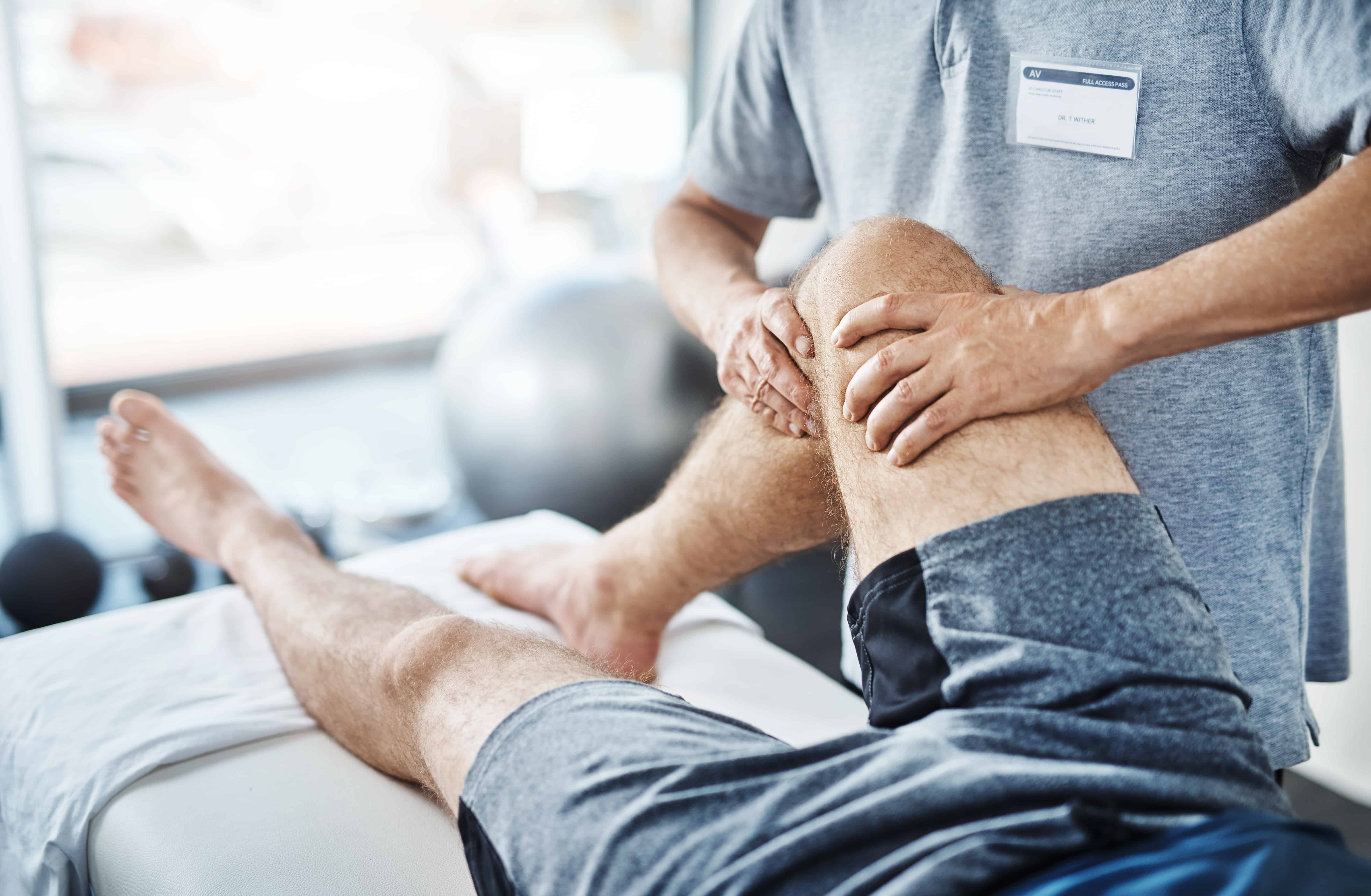 We'll sort out these sprains and strains