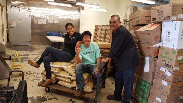 Brandi Higa, Ed Sugimoto & Chef Andy Dalan