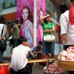 Street vendors - Shanghai Sunday
