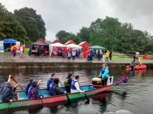 Dragon Boat Racing at Glasgow Canal Festival