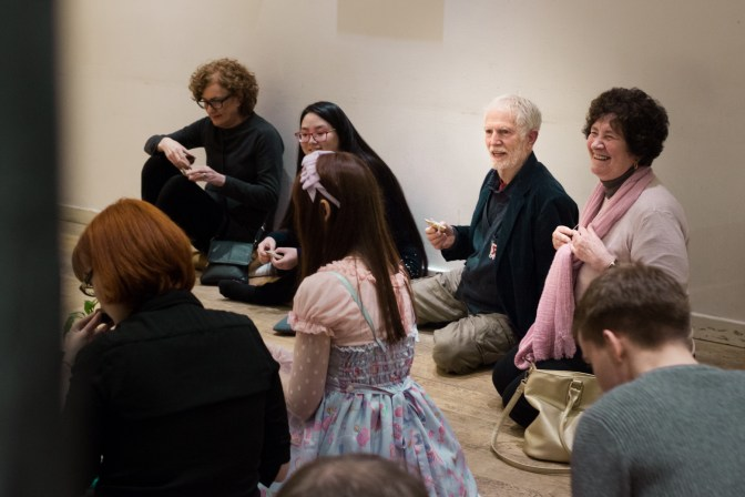 Tea Ceremony Guests at Project Cafe
