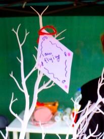 Kite on feedback tree