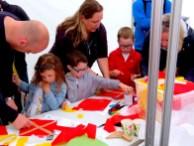 Kite making workshop