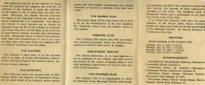 Community House pamphlet 1919
