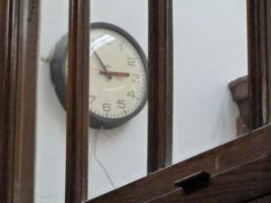 Old Physics clock 2012